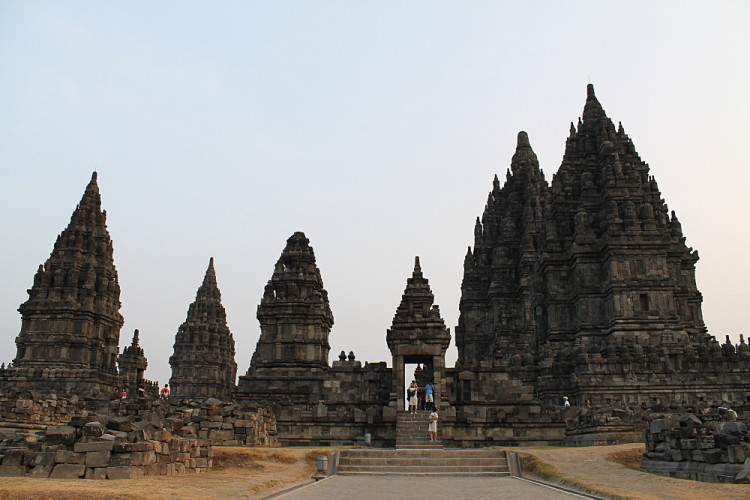 Prambanan temple near Jogjakarta, an interesting thing to see during a week in Java