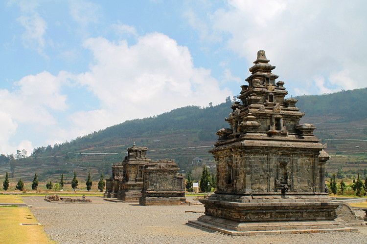 An ancient temple in Dieng Plateau, a highlight of a week in Java