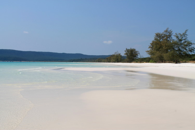 Long Beach on Koh Rong, one of the best beaches in Southeast Asia
