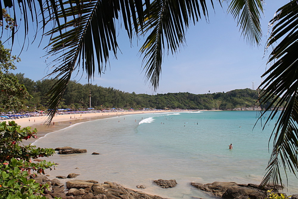 Naiharn beach in Phuket, a great place to stay if you are going to travel to Phuket