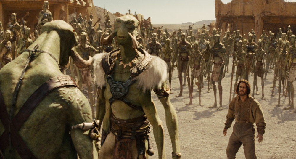 Barsoom, Mars from John Carter