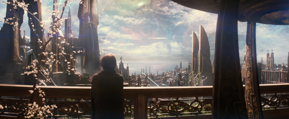 Asgard from the Thor movies