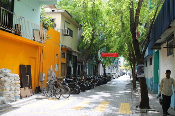 Spend a day in Malé, the Maldives!