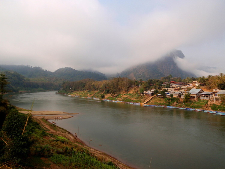 Nong Khiaw, a small town in Northern Laos