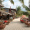 The main street on Koh Rong, Cambodia