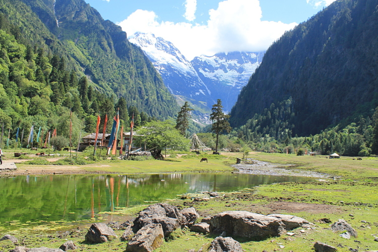Yubeng is a great place to visit if you are backpacking in Yunnan, China