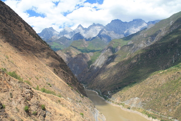 The Tiger Leaping Gorge trek in Yunnan, China