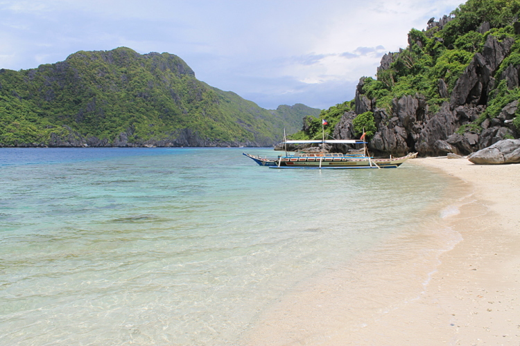 Island hopping in El Nido, Palawan, The Philippines