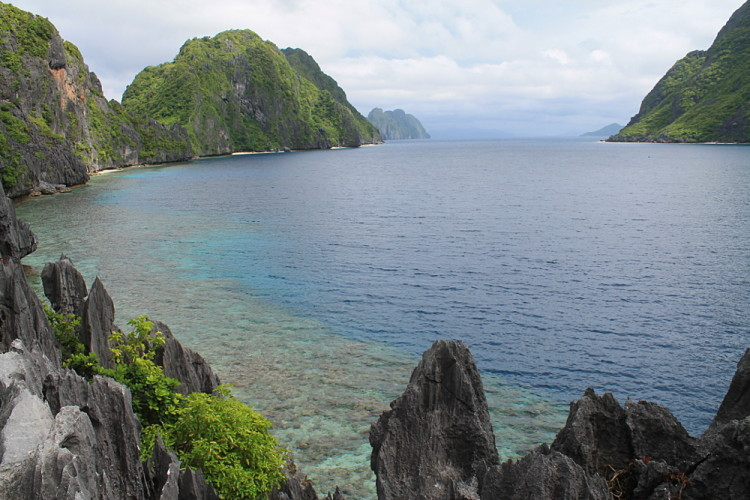Matinloc ilsand, a stop during the island hopping in El Nido tour, Palawan, The Philippines