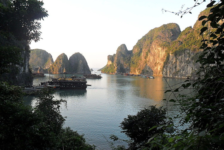 Ha Long Bay, one of the best natural wonders in Southeast Asia