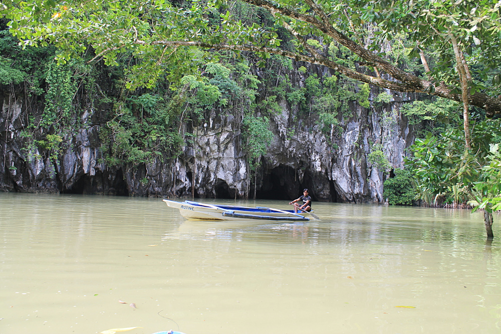 The underground river in palawan one of the best natural wonders in
