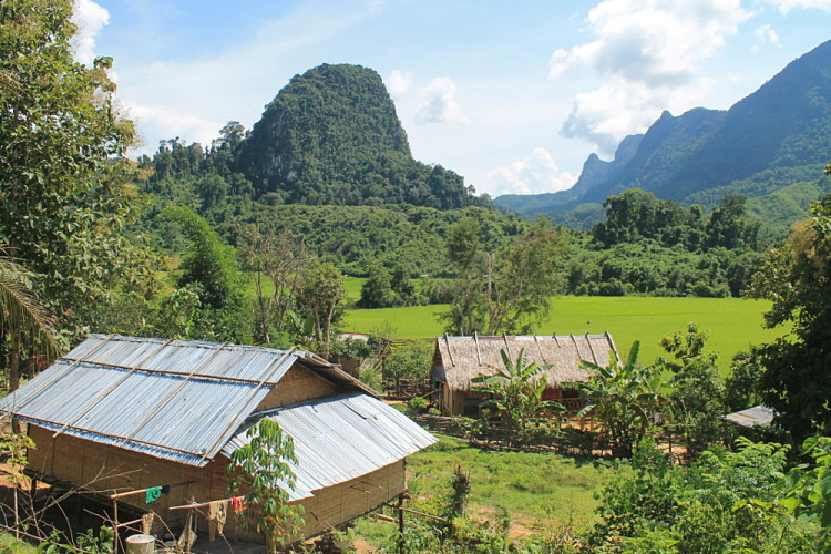 Bana village near Muang Ngoi, Laos