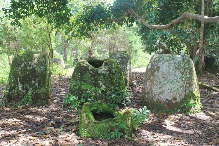 The best ancient temples and ruins in Asia -- The Plain of Jars, Laos