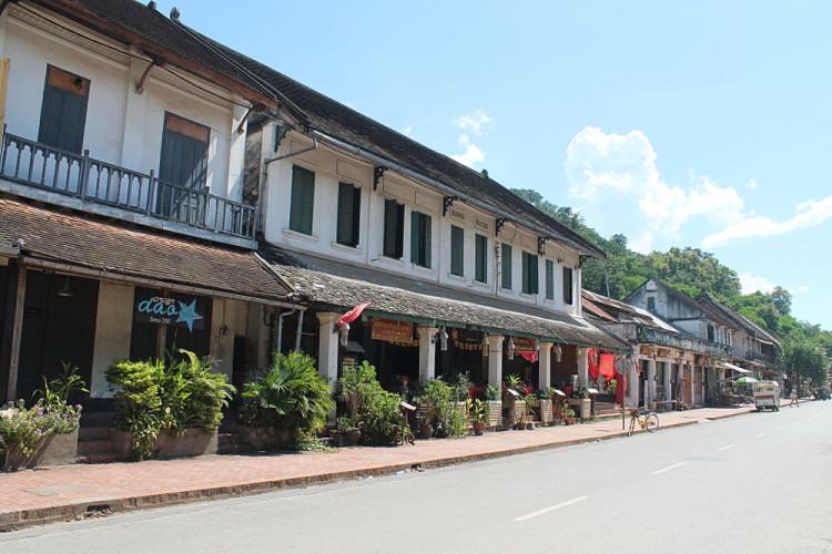 The streets of Luang Prabang, Laos