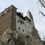 Searching for Robert Pattinson at Bran Castle, Transylvania