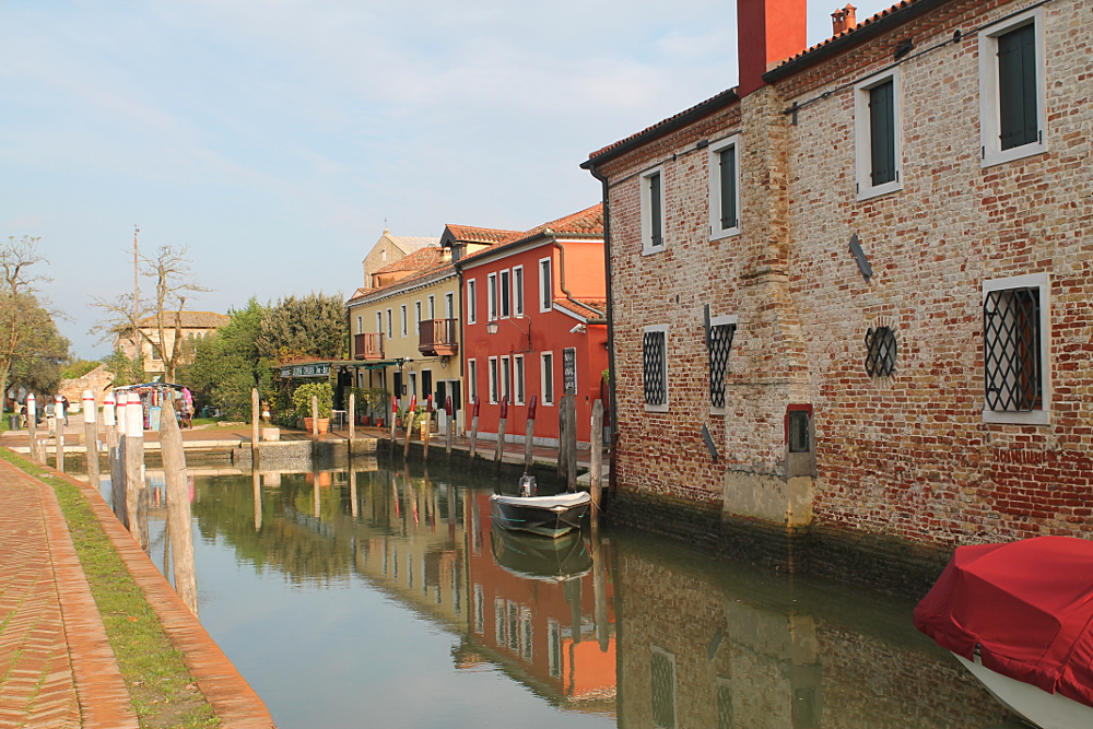 Romance in Venice - a canal in Torcello