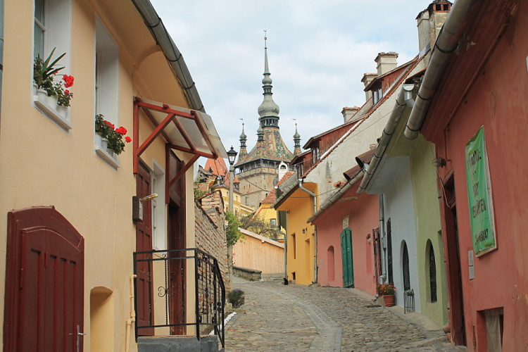 Sighisoara, a must see during a week in Transylvania