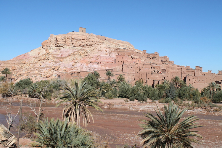 The village of Aït Benhaddou, Morocco