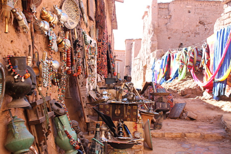 A shop at Aït Benhaddou, Morocco