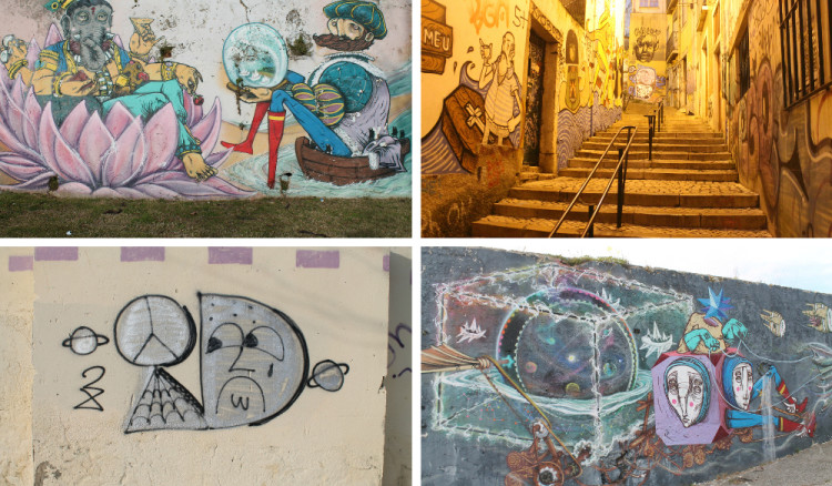 The changing styles of Lisbon street art