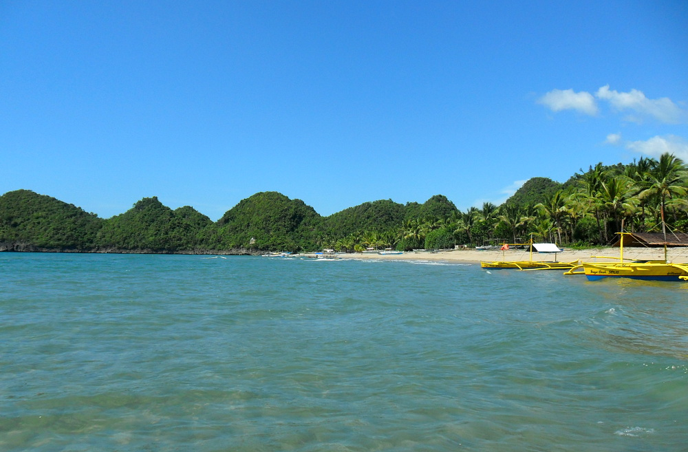 Sugar Beach, Negros, the Philippies - one of the best beaches in Southeast Asia