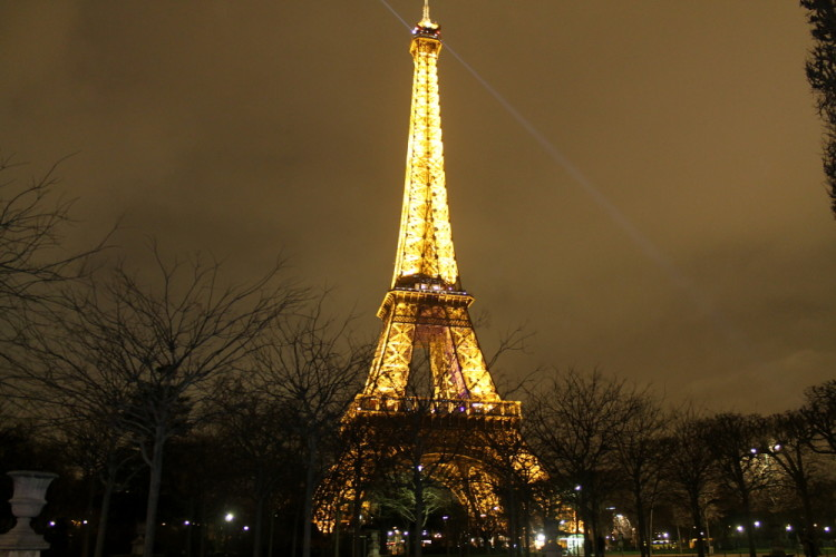 Two days in Paris, extreme sightseeing: The Eiffel Tower