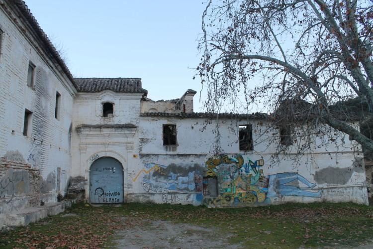 An abandoned monastery between Beas de Granada and Granada, Spain