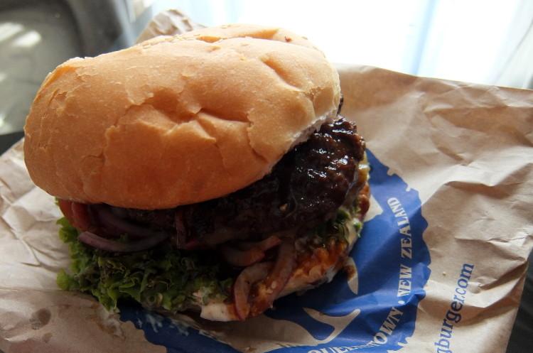 Fergburger in Queenstown, New Zealand