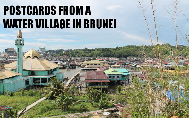 Southeast Asia travel blog - water village in Brunei