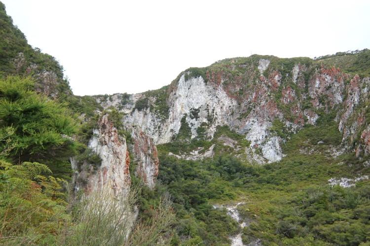 Rainbow Mountain in Rotorua, New Zealand