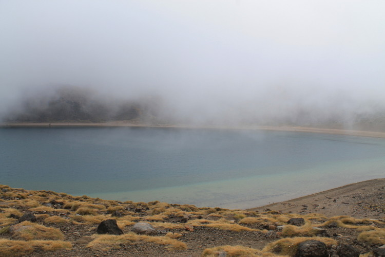 The Blue Lake - Tongariro Crossing, New Zealand