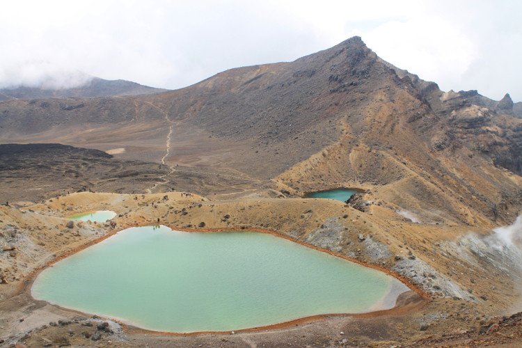 The Emerald Lakes - The Tongariro Crossing, North Island, New Zealand