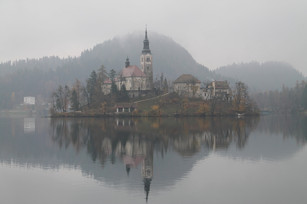 A year on the road: Lake Bled, Slovenia