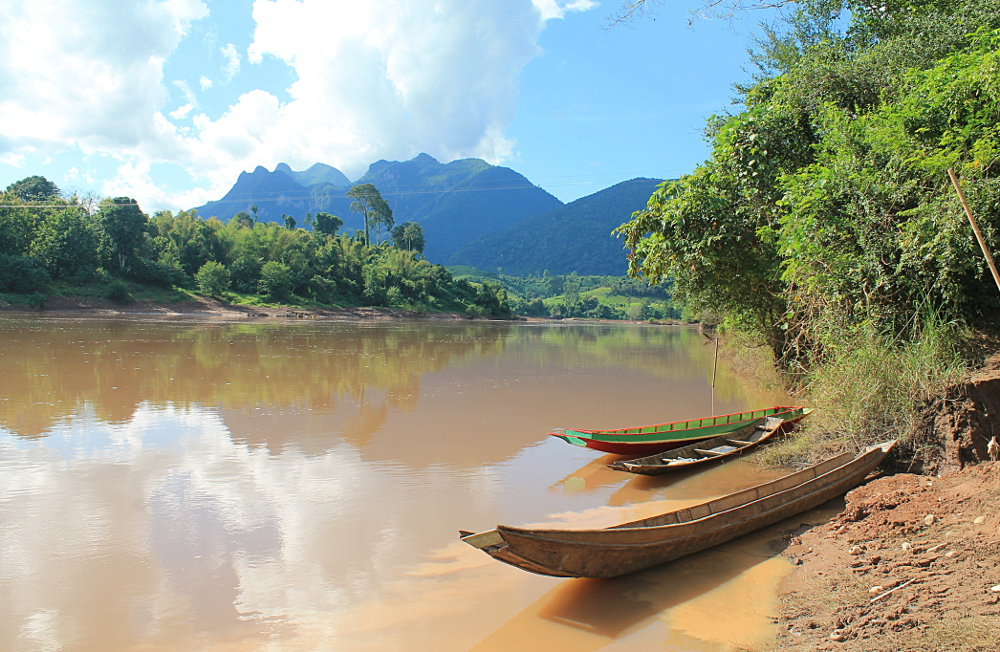 A year on the road: Nam Ou River, Laos