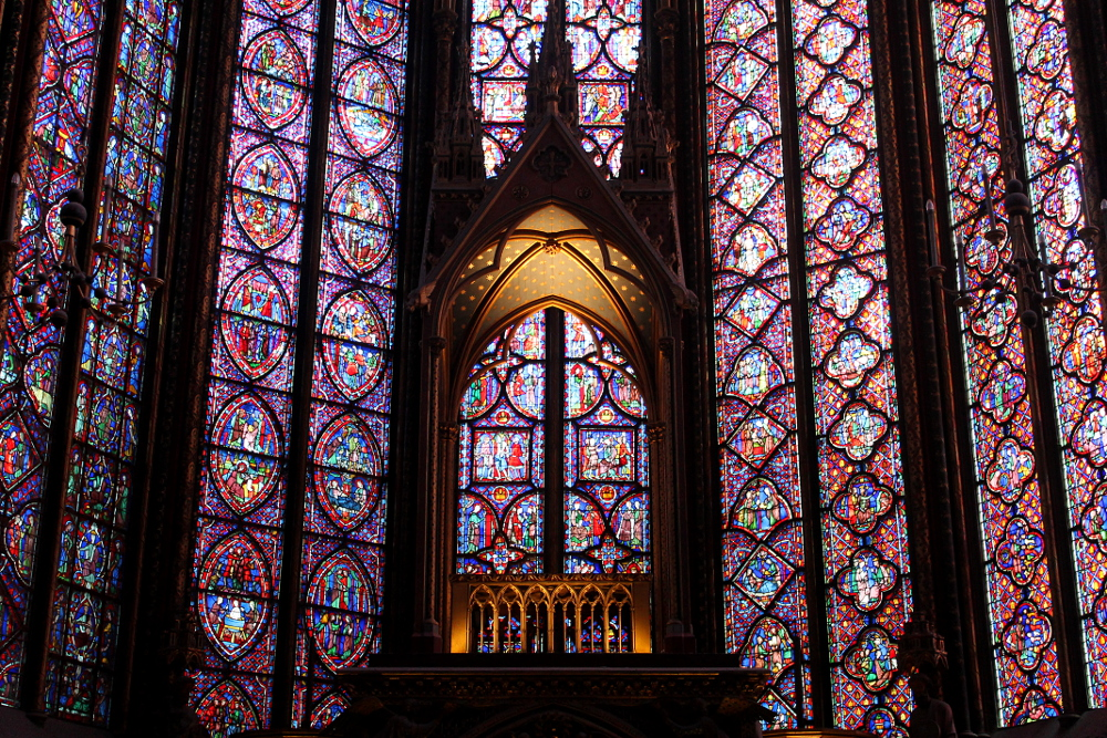 A year on the road: Sainte-Chapelle, Paris, France