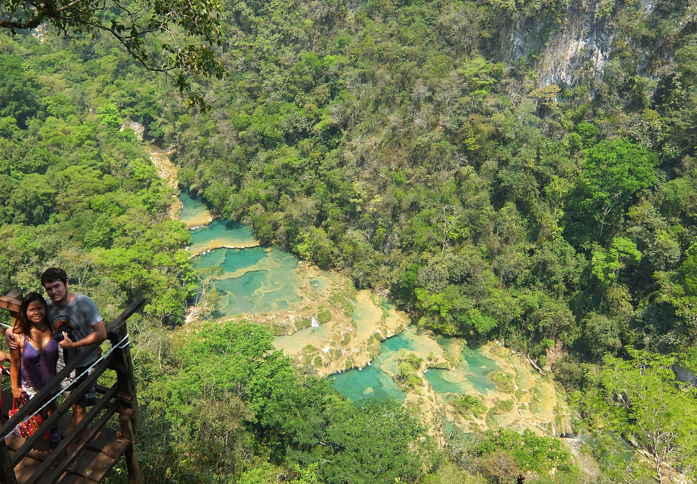 Semuc Champey - a great natural wonder in Guatemala