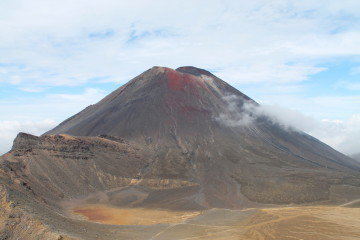 The Tongariro Crossing trek - one of the best day walks in the world