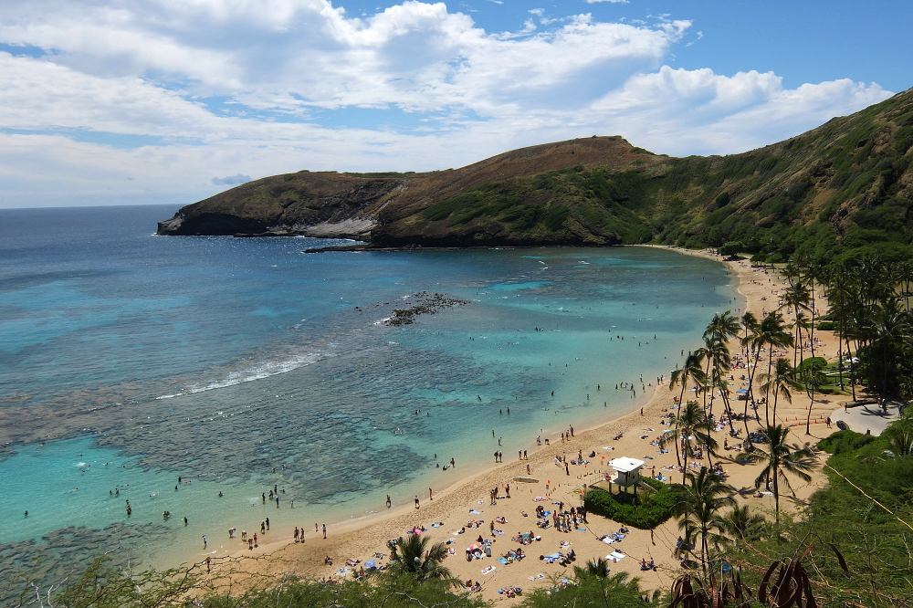 A year on the road: Hanauma Bay, Hawaii, U.S.A