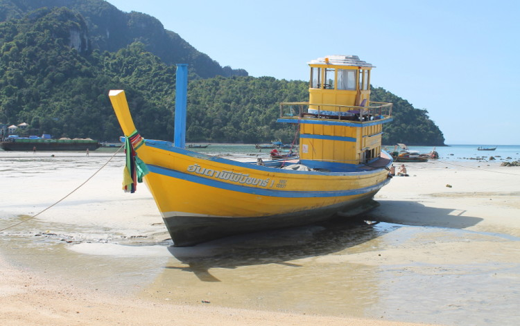 Should you go to Koh Phi Phi Don? Not for beaches!