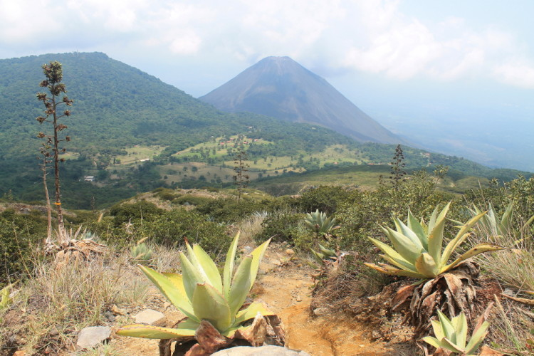 View from Santa Ana volcano, El Salvador
