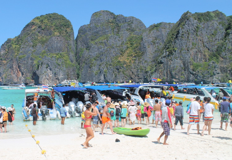 Maya Bay - a must see if you go to Koh Phi Phi