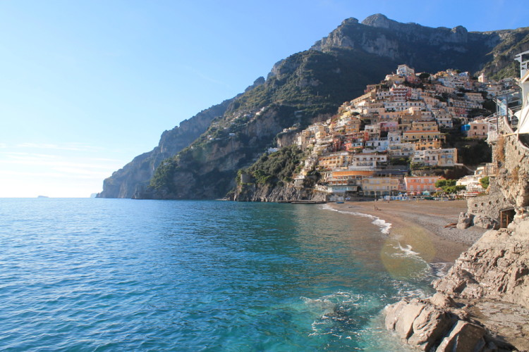 Positano - a must see town while on day trips to the Amalfi Coast, Italy