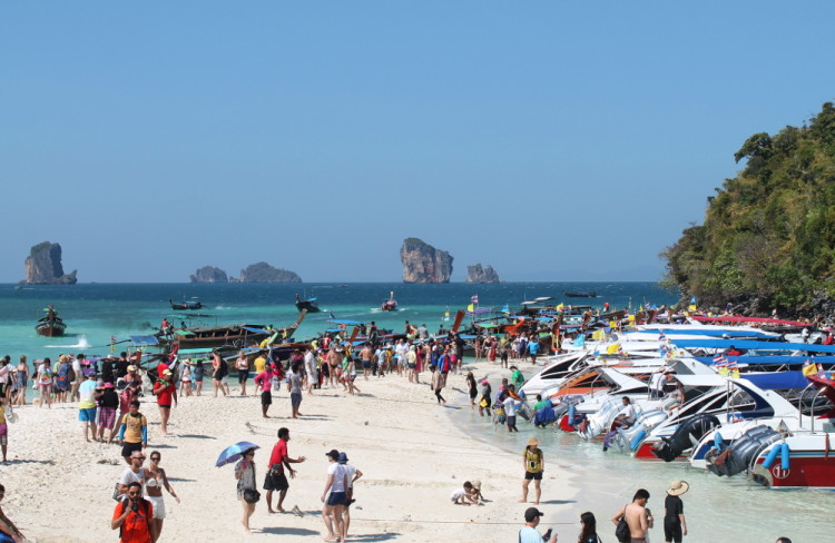 Koh Tup and Koh Mor, part of the island hopping in Krabi tour, Thailand