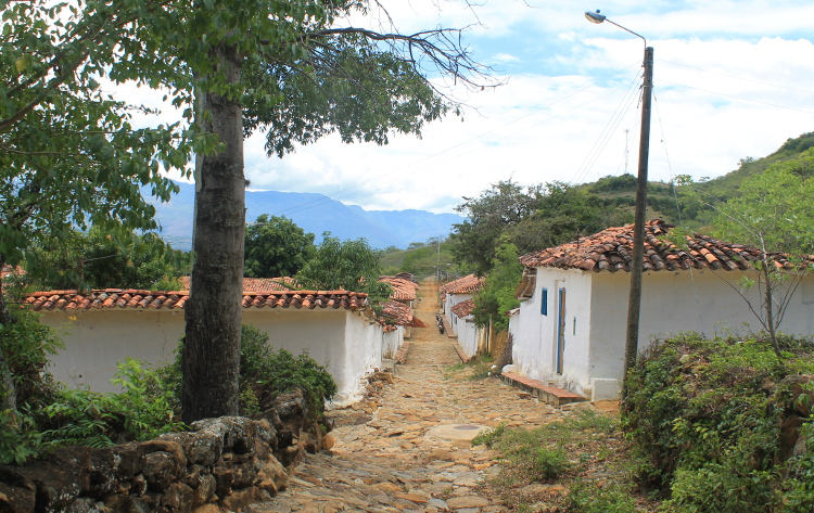 Barichara to Guane - reaching the beautiful village of Guane, Colombia