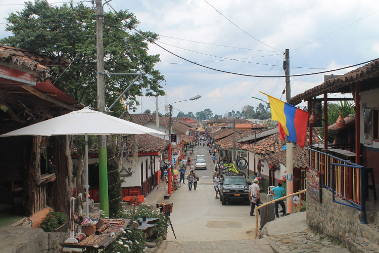 Colourful Salento - the best base for exploring Colombia's coffee zone