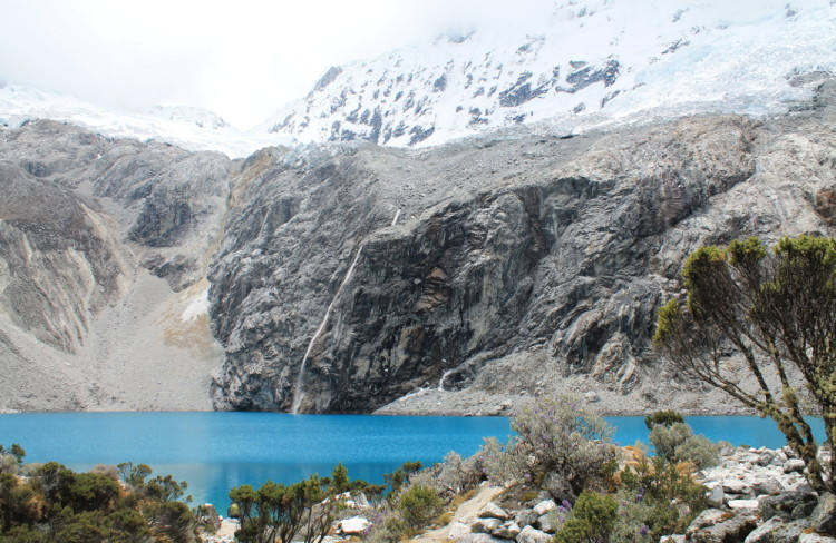 Stunning natural wonders in South America -- Laguna 69, Peru