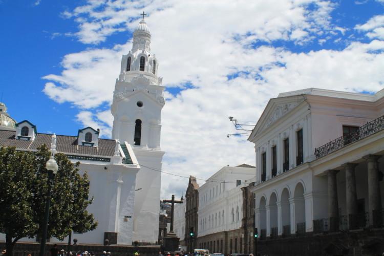 Quito old town, Ecuador: Plaza Grande