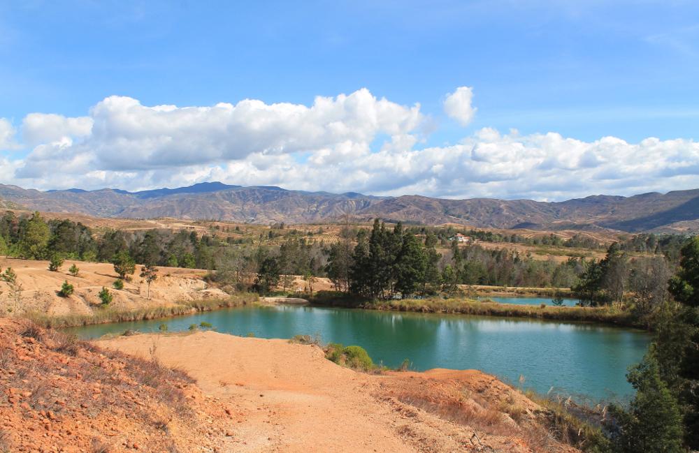 Pozos Azules, Villa de Leyva, Colombia: