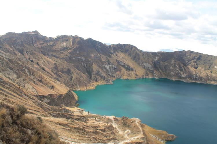 Quilotoa Loop, Ecuador - Laguna Quilitoa