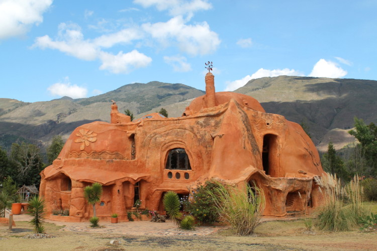Terracotta House in Villa de Leyva, Colombia: